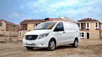 2017 Mercedes-Benz Metris TV Spot, 'Hauls More' - Thumbnail 9