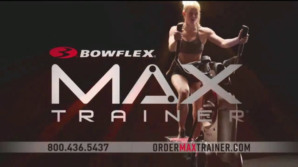 Bowflex Max Trainer TV Commercial, 'No Time to Workout?'