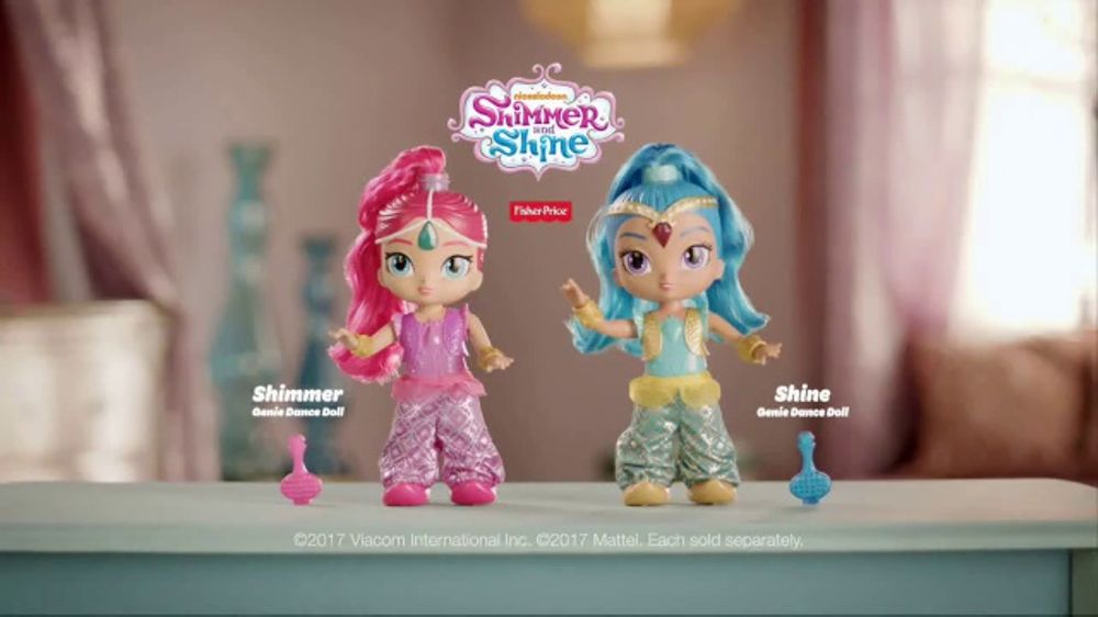 Shimmer and Shine Genie Dance Dolls TV Commercial, 'You Make the Moves'