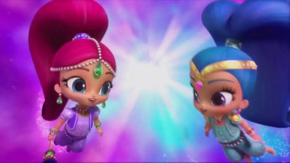 Shimmer And Shine Genie Dance Dolls Tv Commercial You