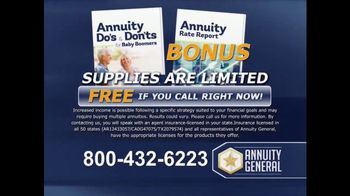 Annuity General TV Spot, 'Maximize Retirement Income' - Thumbnail 7