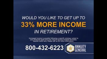 Annuity General TV Spot, 'Maximize Retirement Income' - Thumbnail 1