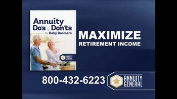 Annuity General TV Spot, 'Maximize Retirement Income' - Thumbnail 2
