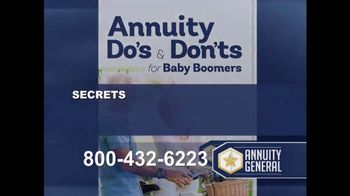 Annuity General TV Spot, 'Maximize Retirement Income' - Thumbnail 3