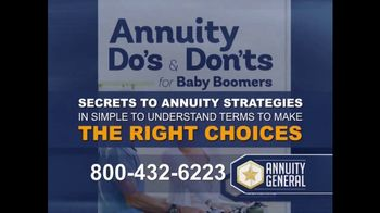 Annuity General TV Spot, 'Maximize Retirement Income' - Thumbnail 4