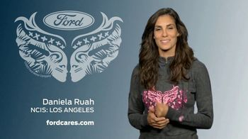 Ford Warriors in Pink TV Spot, 'Shine a Light' Featuring Daniela Ruah