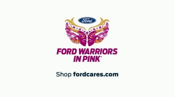 Ford Warriors in Pink TV Spot, 'High Stakes Mission' Feat. David Boreanaz - Thumbnail 8