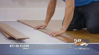 50 Floor TV Spot, 'Floor Time'