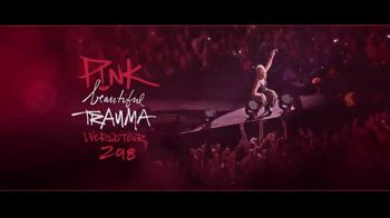P!nk: Beautiful Trauma World Tour TV Spot, 'American Airlines Center'
