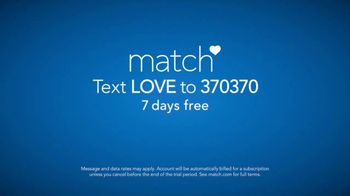 Match.com TV Spot, 'Real Relationship: Love' - Thumbnail 9