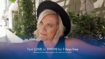Match.com TV Spot, 'Real Relationship: Love' - Thumbnail 7