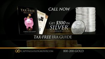 Capital Gold Group TV Spot, 'IRA Rollover, 401K Rollover' - Thumbnail 7