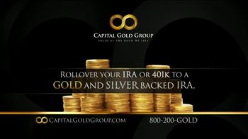 Capital Gold Group TV Spot, 'IRA Rollover, 401K Rollover' - Thumbnail 4