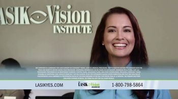The LASIK Vision Institute Contoura Vision TV Spot, 'New Technology'