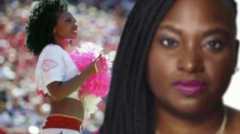 American Cancer Society TV Spot, 'NFL Crucial Catch: Brandy Reed' - 221 commercial airings