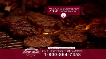 Omaha Steaks Savings Celebration Package TV Spot, 'Friends and Family' - Thumbnail 4