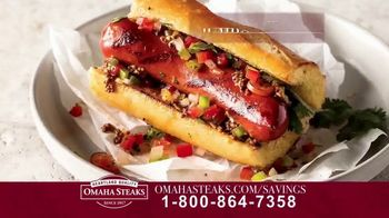 Omaha Steaks Savings Celebration Package TV Spot, 'Friends and Family' - Thumbnail 6