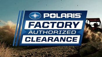 Polaris Factory Authorized Clearance TV Spot, 'The Year's Best Deals'