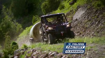 Polaris Factory Authorized Clearance TV Spot, 'The Year's Best Deals' - Thumbnail 3