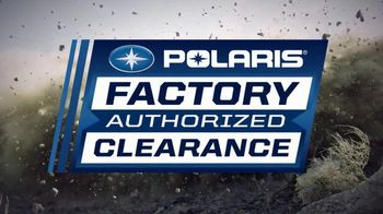 Polaris Factory Authorized Clearance TV Spot, 'The Year's Best Deals' - Thumbnail 6