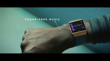 Fitbit Ionic TV Spot, 'Designed for Fitness' - Thumbnail 2