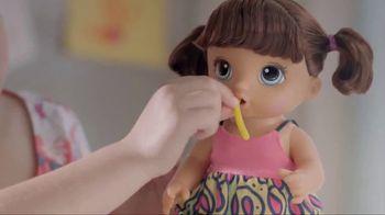 Baby Alive Super Snacks Snackin' Noodles Baby TV Spot, 'Lots of Noodles'