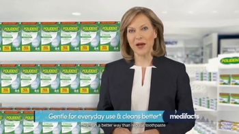Polident TV Spot, 'Medifacts: Clean Feeling'