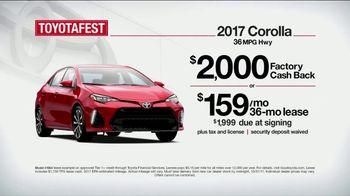 Toyota Toyotafest TV Spot, '2017 Corolla: Super Reliable' [T2] - Thumbnail 3