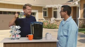 Keurig K-Select TV Spot, 'Brew the Love: Keurig Converts' Ft. James Corden