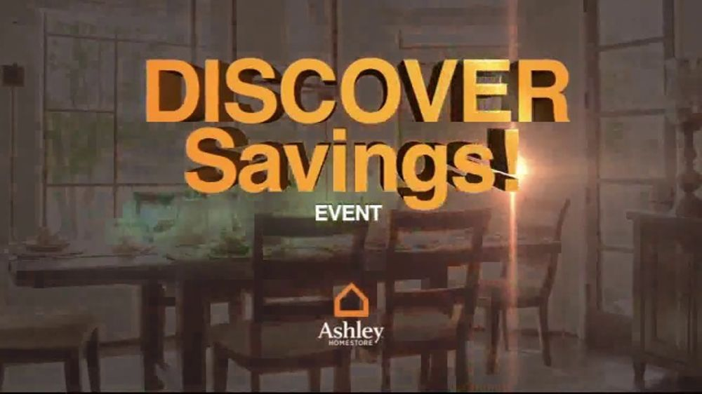 Ashley HomeStore Discover Savings Event TV Commercial, 'Buy More and Save More'