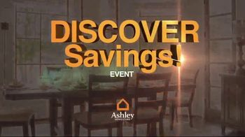 Ashley HomeStore Discover Savings Event TV Spot, 'Buy More and Save More' - 1 commercial airings