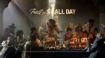 Taco Bell $1 All Day Menu TV Spot, 'Feast'