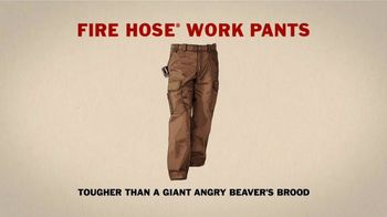 Duluth Fire Hose Work Pants TV Spot, 'A Giant Angry Beaver's Brood' - Thumbnail 7