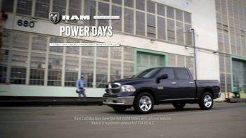 Ram Trucks Power Days TV Spot, 'Get Your 2017 Ram 1500' [T2] - Thumbnail 1