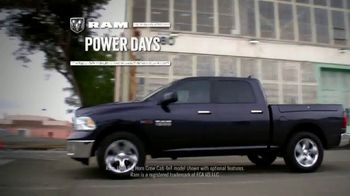 Ram Trucks Power Days TV Spot, 'Get Your 2017 Ram 1500' [T2] - Thumbnail 2
