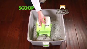 Neater Scooper TV Spot, 'Scoop, Sift and Lift'