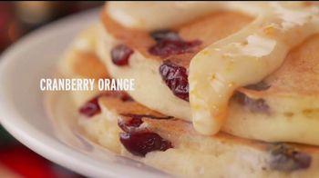 Denny's Holiday Pancake Flavors TV Spot, 'Panqueques festivos' [Spanish] - Thumbnail 2