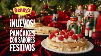 Denny's Holiday Pancake Flavors TV Spot, 'Panqueques festivos' [Spanish] - Thumbnail 6