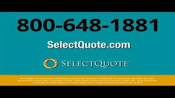 Select Quote Life Insurance TV Spot, 'Consider These Numbers' - Thumbnail 10