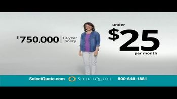 Select Quote Life Insurance TV Spot, 'Consider These Numbers' - Thumbnail 7