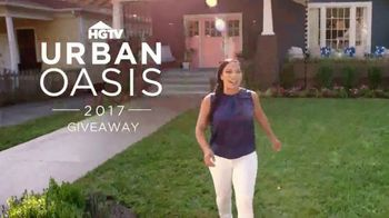 2017 HGTV Urban Oasis Giveaway TV Spot, 'New Life' Featuring Egypt Sherrod
