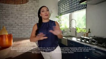 2017 HGTV Urban Oasis Giveaway TV Spot, 'New Life' Featuring Egypt Sherrod - Thumbnail 5