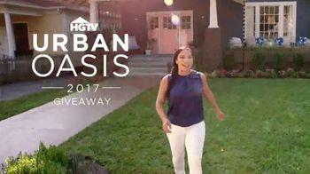 2017 HGTV Urban Oasis Giveaway TV Spot, 'New Life' Featuring Egypt Sherrod