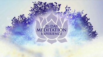 Chopra Center Meditation TV Spot, 'Making Every Moment Matter' Feat. Oprah