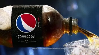 Pepsi Zero Sugar TV Spot, 'Delicious and Refreshing: Pour'