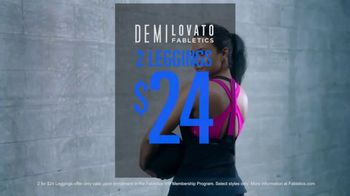 Fabletics.com Demi Lovato Collection TV Spot, 'All About the Details' - Thumbnail 9