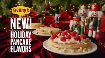 Denny's Holiday Pancake Flavors TV Spot, 'New Holiday Pancake Flavors!'