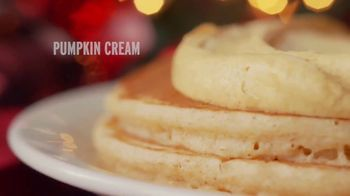 Denny's Holiday Pancake Flavors TV Spot, 'New Holiday Pancake Flavors!' - Thumbnail 1