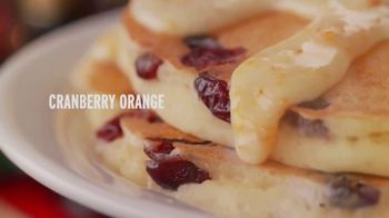 Denny's Holiday Pancake Flavors TV Spot, 'New Holiday Pancake Flavors!' - Thumbnail 2
