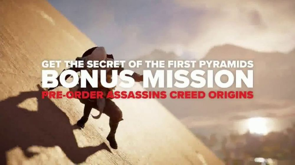 GameStop TV Commercial, 'Assassin's Creed: Origins: Don't Miss Out'